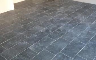 Lei stenen vloer